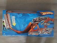 2008 Hot Wheels V-Drop Super Velocity Track Set With Car 7 Foot Drop