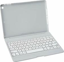 ZAGG Folio Case Hinged With Bluetooth Keyboard Ultra Thin for iPad Air - White