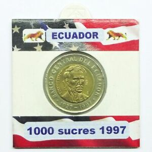 1000 sucres 1997 Ecuador