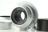 【 N MINT 】 Voigtlander HELIAR 50mm f/3.5 Bessa T 101 Years Model Lens from JAPAN