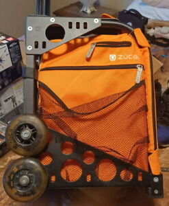 Zuca Sport Bag - Persimmon with Gift 2 Small Utility Pouch