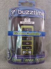 Buzztime Home Trivia System Wireless Controller Yellow Sealed