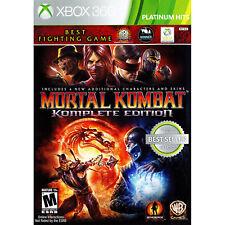 Mortal Kombat Komplete Edition Xbox 360 [Brand New]