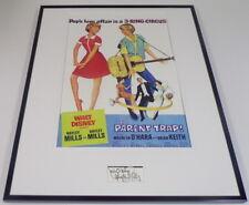 Hayley Mills Signed Framed 16x20 Parent Trap Poster Display