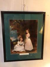 """Print Framed """"Beckford Children""""29X24"""" By G.Romney.C6pix4size&details.MAKE OFFER"""