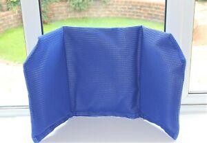 Invacare Aquatec Ocean Soft Backrest Cushion, Blue Cover – 1558769
