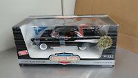ERTL 1/18 1957 Chevy Bel-Air Sport Coupe BLACK Hardtop #7437 American Muscle '57