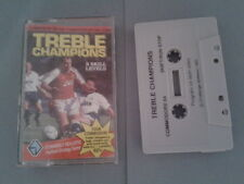 C64 COMMODORE 64/128 TREBLE CHAMPIONS SOCCER 3 SKILL LEVELS