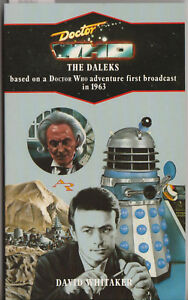 Doctor Who - [and] the Daleks. VGC, Virgin blue spine edition. Target books.
