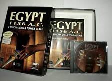 EGYPT 1156 A.C. L'ENIGMA DELLA TOMBA REALE USATO PC ITA PAL BIG BOX DD1 49887