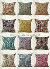 wholesale 10 cushion covers paisley vintage flower home decoration throw pillow