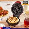 NEW Mini Maker Waffle Maker Machine for Individual Waffles Paninis Hash AU Plug