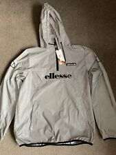Mens Ellesse Reflective Overhead Jacket - Size L - New With Tags