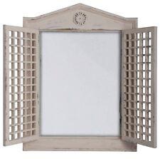 deko spiegel mit fenster ebay. Black Bedroom Furniture Sets. Home Design Ideas