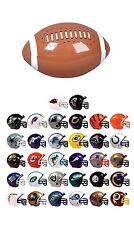MINI NFL FOOTBALL HELMETS, COLLECTIBLE COMPLETE SET OF ALL 32 TEAMS FREE BONUS!