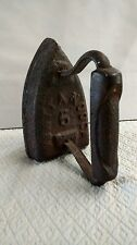 Antique Clothes Iron Chattanooga Tennessee  number 6 Rare Find