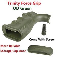 Trinity Force Rear Grip Finger Groove Reliable Storage Cap Door OD Green W Screw