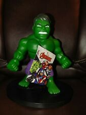 Hulk - Pvc Soft Figure- Marvel Avengers - New - Says Hulk Smash