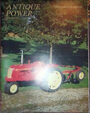 COCKSHUTT tractor Model 30,  Moline ZAU, 1996 Antique Power Magazine