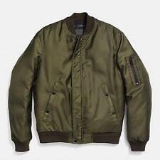 COACH New York   Green Medium Bomber winter jacket RRP 495 Coat Stone Island Y3