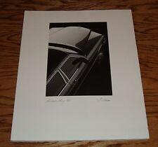 1990 Mercedes-Benz S Class Deluxe Sales Brochure 90