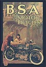 BSA Motor Bicycles steel fridge magnet   (hb)