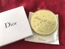 NEW Authentic DIOR Midnight Wish Gold Makeup Mirror Handbag with Pouch VIP Gift