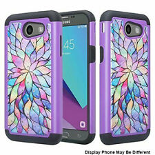 For Samsung Galaxy On5 Shockproof Hybrid Hard Diamond Bling Case Phone Cover