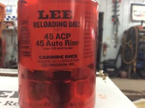 Lee 45 acp carbide 3 die set 90513
