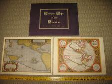 Mercator Map of America 1620 Abraham Ortelius Pacific Ocean 1589 Penn Prints