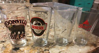 Lot of 4 Beer Glass Tumblers Glasses Bass Ale STONE BREWING++ 16 Oz