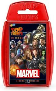 Top Trumps Marvel Cinematic Universe Fun Children Strategy Card Game