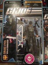 GI JOE Cobra Snake Eyes Ninja Commando PURSUIT OF COBRA POC 30TH Moc 1115