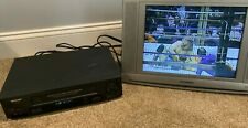 Sharp Model Vc-H993 Vcr - S-Vhs Hi-Fi 4 Head Rapid Rewind Tested! - No Remote