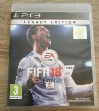 FIFA 18 PS3 FISICO PLAYSTATION 3 PAL ESPAÑA LEGACY EDITION