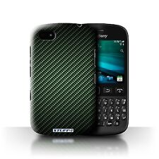 STUFF4 Phone Case for Blackberry Smartphone/Carbon Fibre Effect/Pattern/Cover