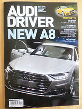 AUDI Driver Motoring Monthly Magazine TT RS 400 PS 174 MPH Issue March 2017