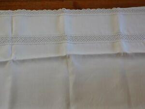 drap en fil pour lit de bébé
