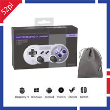 8BITDO SN30 Pro Bluetooth Gamepad Controller for iOS, Android, Mac, Windows,RPI