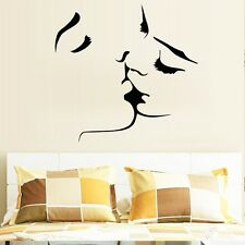 New Sexy Kiss Quote Wall sticker Wallpaper wall decals Art mural home wallpaper
