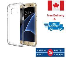 Samsung Galaxy S7 edge Soft TPU Gel Ultra Clear Transparent Slim Case Cover
