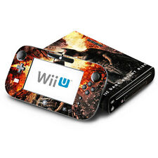 Skin Decal Cover for Nintendo Wii U Console & GamePad Batman Dark Knight Rises 2
