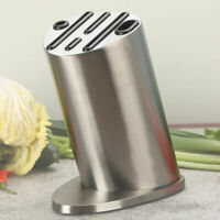 Porte-couteau en Acier Inoxydable Support de Rangement Accessoires de Cuisine