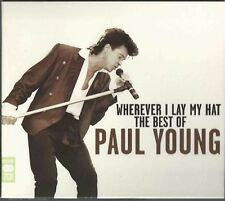 PAUL YOUNG - WHEREVER I LAY MY HAT THE BEST OF 2008 2 X CD CARDBOARD MCDLX083