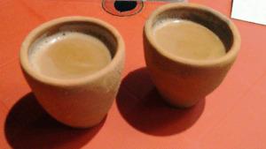 INDIAN Chai Kulhar Handmade Eco Friendly Clay Tea Cups - 2Pcs