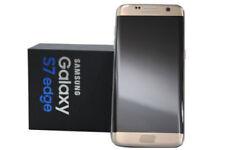 Téléphones mobiles jaunes Samsung du modèle Samsung Galaxy S7 edge