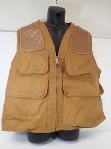 Antique Gerald Henderson The Complete Pointer Duck Canvas Upland Hunting Vest XL