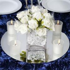 "24 pcs 14"" Round Mirrors Wedding Party Reception Wholesale Centerpieces Supplies"