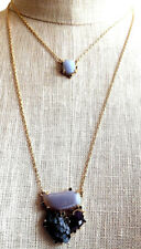 Anthropologie Piedra 2-Tiered Layer Necklace