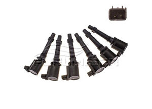 Fuelmiser Ignition Coil (6 Pack) CC353A/6 fits Ford Falcon 4.0 (BA), 4.0 EcoL...